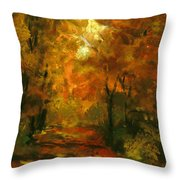 Lighted Trail Throw Pillow