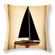 Lightening Sails Throw Pillow