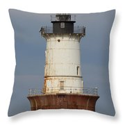 Lighthouse 3 Throw Pillow