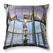 Lighthouse First Order Fresnel Lens Throw Pillow