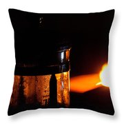 Lighthouse French Press Throw Pillow