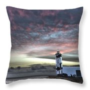 Lighthouse Maria Pia Throw Pillow