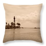 Lighthouse Point Throw Pillow