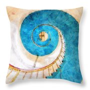 Lighthouse Staircase Throw Pillow