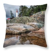 Lighthouse Top Throw Pillow