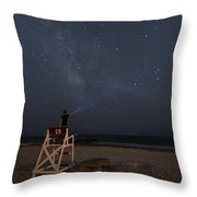 Lighting The Way To The Milkyway Throw Pillow