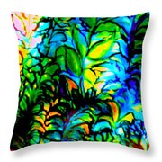 Lighting Up The Night Throw Pillow