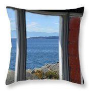 Lightkeepers View Throw Pillow