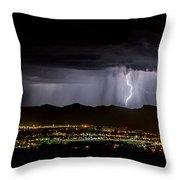 Lightning 1 Throw Pillow