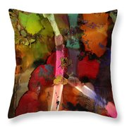 Lightning Angel Throw Pillow