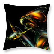 Lightning Bug Throw Pillow
