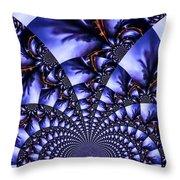 Lightning Illusion 7 Throw Pillow