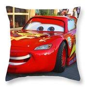 Lightning Mcqueen Throw Pillow