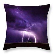 Lightning2 Throw Pillow