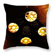 Lights From Above Throw Pillow