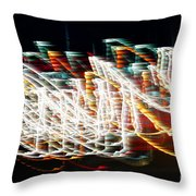 Lights In The Wind I Throw Pillow