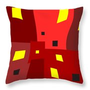 Lights On Lights Off Throw Pillow