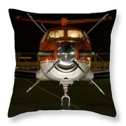 Lights On Throw Pillow