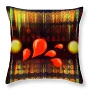 Lights_bleed Throw Pillow