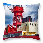 Lightship Lv15 Trinity Throw Pillow
