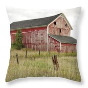 Ligonier Barn Throw Pillow