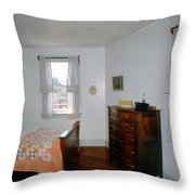 Ligthouse Bedroom At Drum Point Throw Pillow