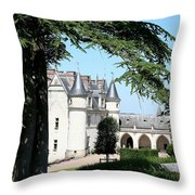 Like A Fairytale - Chateau Amboise Throw Pillow