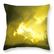 Like A Voice Through The Clouds Throw Pillow