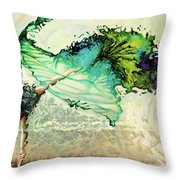 Like Air I Will Raise Throw Pillow