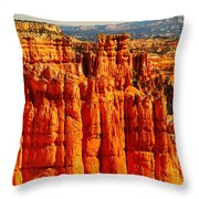 Like Castles From The Sand Throw Pillow