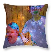 Like Father Like Son 2 Throw Pillow