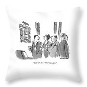 Like It?  It's A Morley Safer Throw Pillow