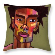 Likes To Party Throw Pillow by Douglas Simonson