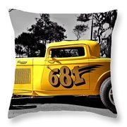 Lil' Deuce Coupe Throw Pillow