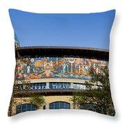 Lila Cockrell Theatre - San Antonio Throw Pillow