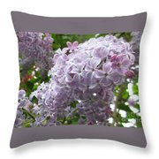 A Lighter Shade Of Lilac Throw Pillow