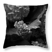 Lilacs And Hydrangeas Throw Pillow