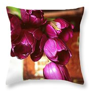 Lilies To Go Throw Pillow