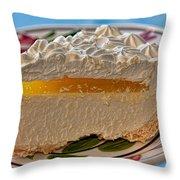 Lilikoi Cheese Pie Throw Pillow by Dan McManus