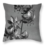 Lilium Hansonii Throw Pillow