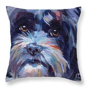 Lilli All Growed Up Throw Pillow