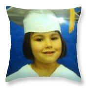 Lilli My Granddaughter  Throw Pillow