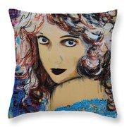 Lillian Gish Throw Pillow