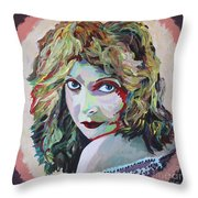 Lillian Gish Portrait Throw Pillow