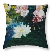 Lillie Pond Throw Pillow