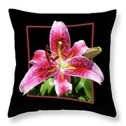 Lilly Ready To Serve Throw Pillow