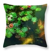 Lily 0147 - Academic Sl Throw Pillow