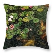 Lily 0147 - Colored Photo 2 Sl Throw Pillow