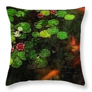Lily 0147 - Lux Sl Throw Pillow
