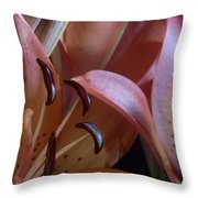 Lily 5 Throw Pillow